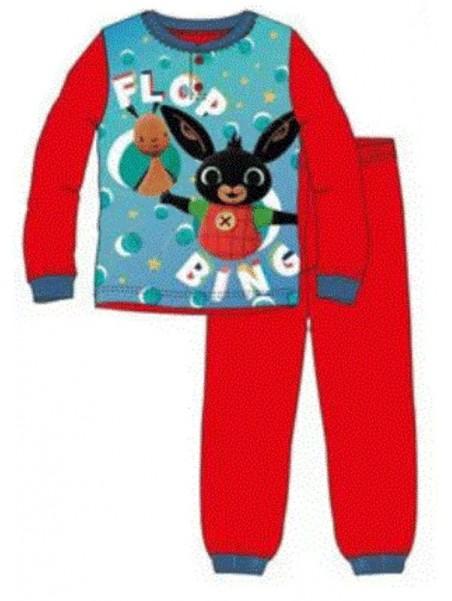 Chlapecké bavlněné pyžamo zajíček Bing - červené