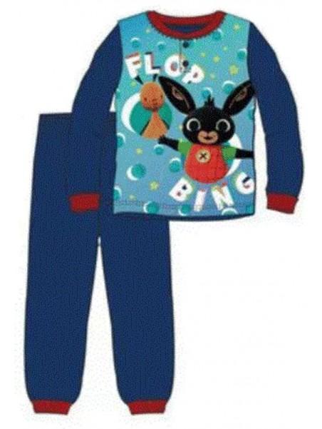 Chlapecké bavlněné pyžamo zajíček Bing - modré