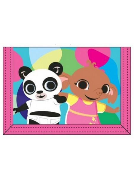 Dětská textilní peněženka zajíček Bing - Sula a Pando