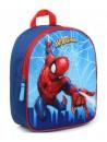 Plastický chlapecký batůžek s obrázkem Spidermana je vhodný pro předškolní děti i malé školáky na výlety. Batoh Spiderman má jednu hlavní komoru se zapínáním na zip. Má široké popruhy, které lze délkově nastavovat, ouško pro přenášení v ruce nebo pověšení. Rozměry batohu jsou 31 x 25 x 12 cm.