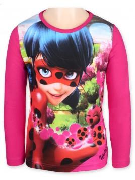 Dívčí tričko s dlouhým rukávem Kouzelná beruška (Ladybug) 889d4cec4a
