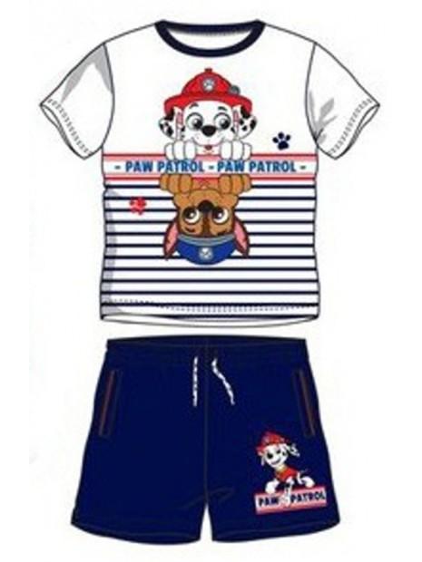 Chlapecký letní set Tlapková patrola / Paw Patrol - bílý