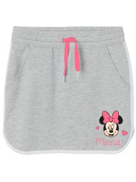 Dívčí sukně Minnie Mouse - šedá
