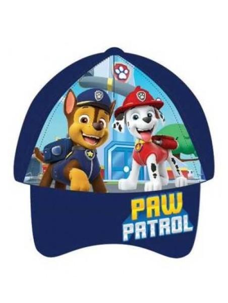 Chlapecká kšiltovka Tlapková patrola / Paw Patrol - tm. modrá