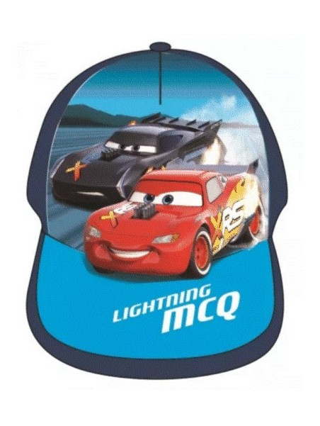 Chlapecká kšiltovka Auta Blesk McQueen - modrá