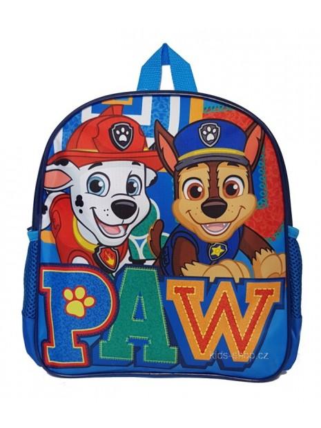 Dětský batoh Tlapková patrola - modrý