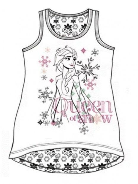 Dívčí bavlněné tílko Ledové království - Frozen
