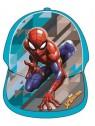 Chlapecká kšiltovka Spiderman - tyrkysová