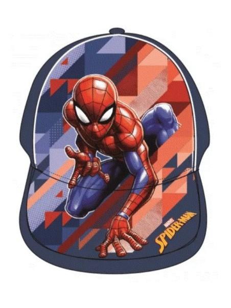 Chlapecká kšiltovka Spiderman - modrá
