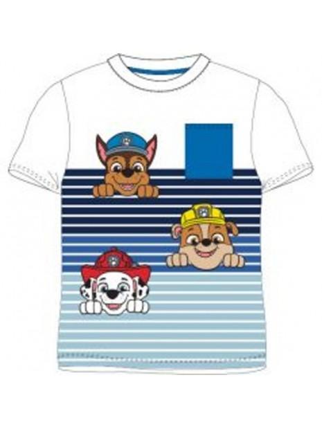 Chlapecké tričko s krátkým rukávem Tlapková patrola - pruhy