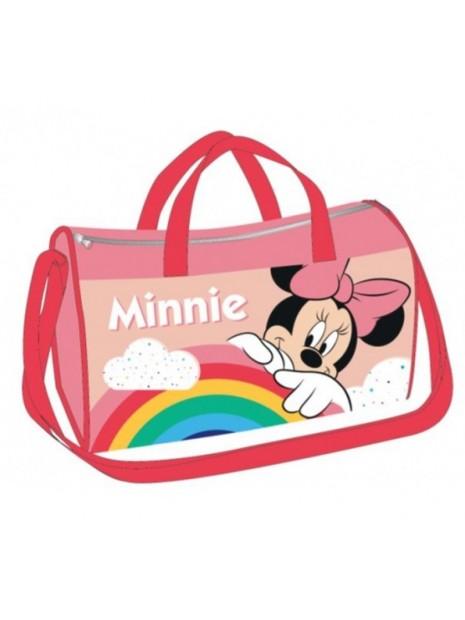 Sportovní taška Minnie Mouse - růžová