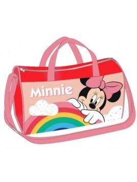 Sportovní taška Minnie Mouse - červená