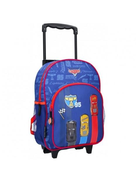 Dětský cestovní kufr na kolečkách Blesk McQueen - Auta