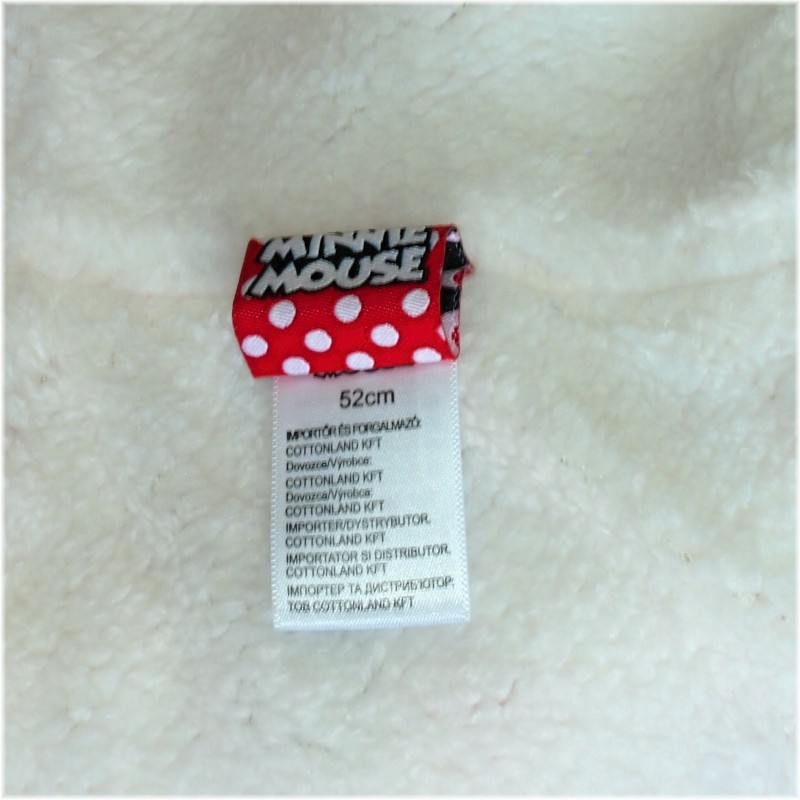 5f8c7dbfa0d Dívčí zimní čepice ušanka s obrázkem Minnie mouse (Disney) - ruzova ...
