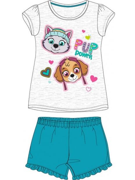 Letní dívčí pyžamo Tlapková patrola - Paw Patrol - šedé