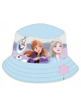 Dívčí klobouček Ledové království FROZEN - modrý