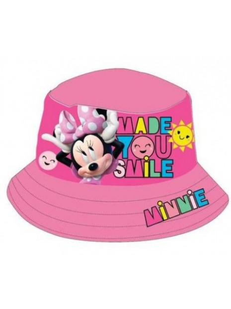 Dívčí klobouk Minnie Mouse (Disney) - tm. růžový