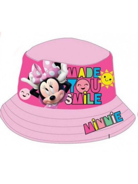 Dívčí klobouk Minnie Mouse (Disney) - sv. růžový