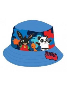 Chlapecký klobouček zajíček Bing - modrý