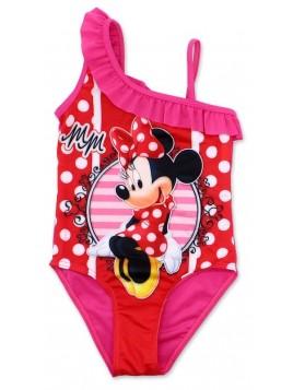 Dívčí jednodílné plavky Minnie Mouse - Disney - tm. růžové