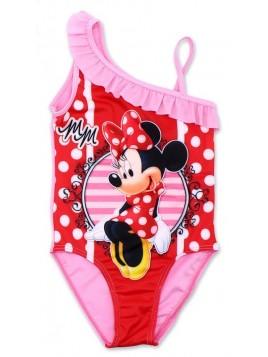 Dívčí jednodílné plavky Minnie Mouse - Disney - sv. růžové