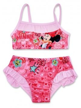 Dívčí dvoudílné plavky Minnie Mouse Disney - sv. růžové
