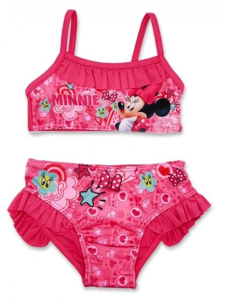 Dívčí dvoudílné plavky Minnie Mouse Disney - tm. růžové