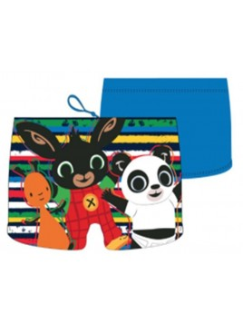Chlapecké plavky / boxerky Zajíček Bing, Flop a Pando - modré