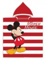 Dětská bavlněná pončo osuška s kapucí Mickey Mouse - Disney