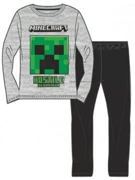 Chlapecké bavlněné pyžamo Minecraft