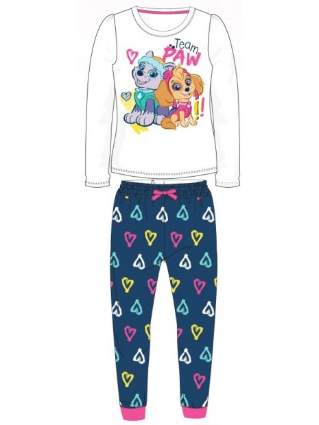 Dívčí pyžamo Tlapková patrola - Skye a Everest