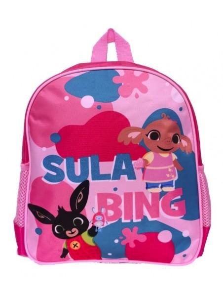 Dětský batoh zajíček Bing a Sula - růžový