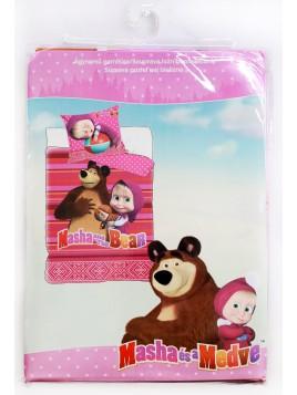 Dětské bavlněné povlečení Máša a Medvěd