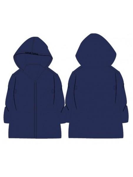 Dětská pláštěnka PVC - tm. modrá