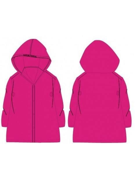 Dětská pláštěnka PVC - růžová