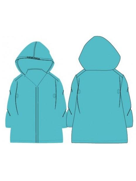Dětská pláštěnka PVC - tyrkysová
