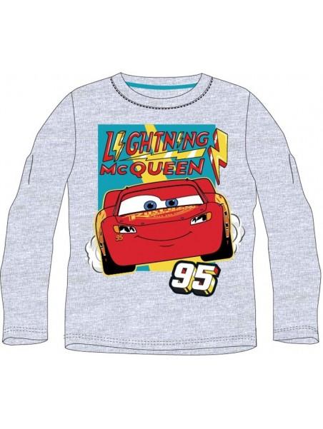 Chlapecké tričko s dlouhým rukávem Auta - Blesk McQueen 95