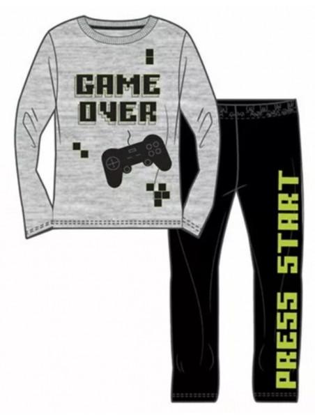 Dětské bavlněné pyžamo Game over