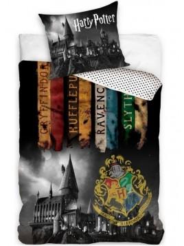 Bavlněné ložní povlečení Harry Potter noc v Bradavicích