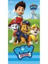 Dětská bavlněná osuška Tlapková patrola / Paw Patrol - Ryder a štěňata