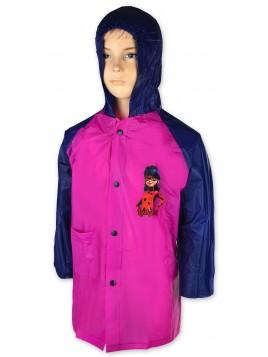 Dívčí pláštěnka Kouzelná Beruška - Ladybug