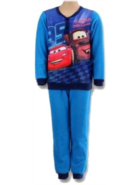 Chlapecké zimní pyžamo Auta - Blesk McQueen - sv. modré