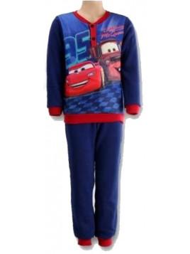 Chlapecké zimní pyžamo Auta - Blesk McQueen - tm. modré