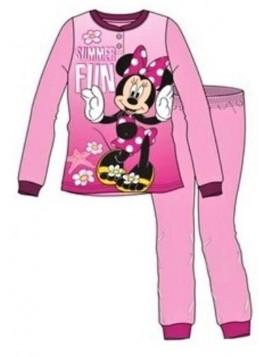 Dívčí bavlněné pyžamo Minnie Mouse - sv. ružové