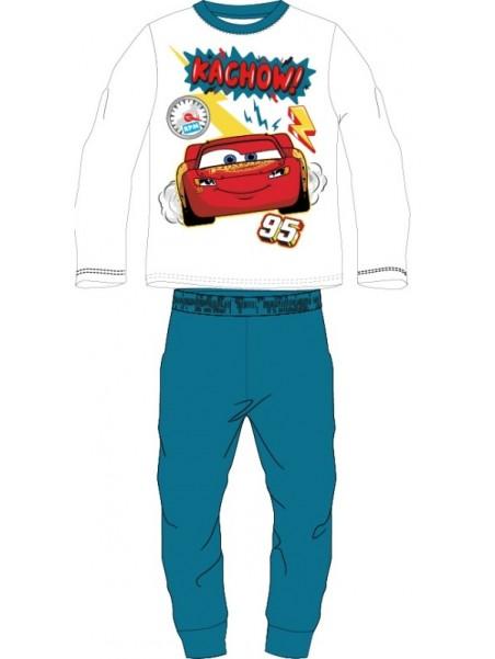 Chlapecké bavlněné pyžamo BLESK MCQUEEN 95 - Auta - modré