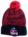 Dívčí zimní čepice s motivem Kouzelné berušky. Vyrobená z příjemného a hřejivého materiálu.