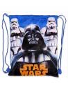 Textilné vrece na športové potreby, alebo na cvičky s motívom Star Wars. Navrchu sťahovanie na šnúrku - je možné ho priviazať k aktovke, alebo nosiť na chrbte.