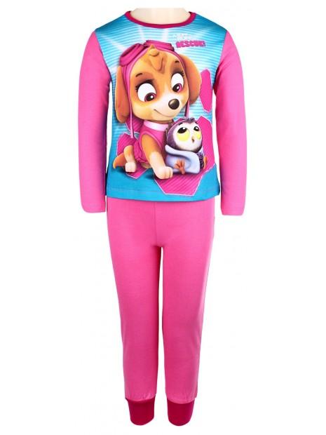 Dívčí pyžamo Tlapková patrola (Paw) - sv. růžové