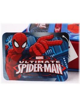 Chlapecká kapsička přes rameno Spiderman s přední kapsou