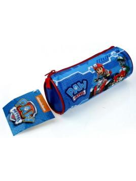 Kulatý penál na tužky Tlapková patrola - pro kluky